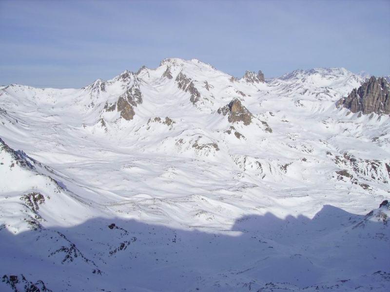 Il Thabor visto da Le Rocher Blanc