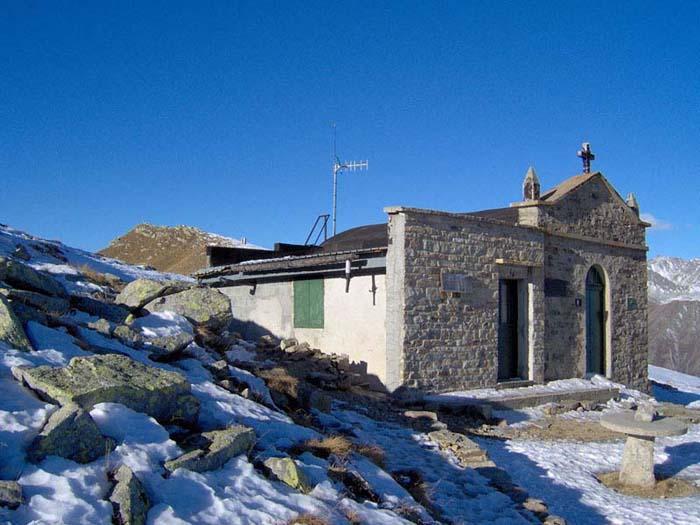 La Punta dell'Aquila dalla Cappella della Madonna della Pace