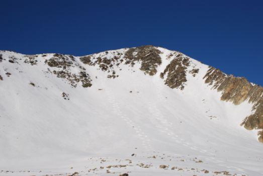 Le tracce di Pierino e Paolino sul versante sud