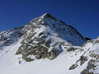 la piramide della cima dalla quota 3096 m