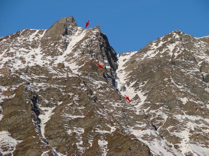 L'itinerario alla rocca del Nigro