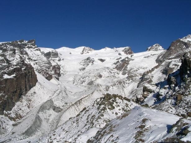 I Breithorn, la Roccia Nera e il Polluce