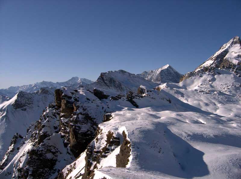 Monte Leone e Pizzo del Moro dalla cima