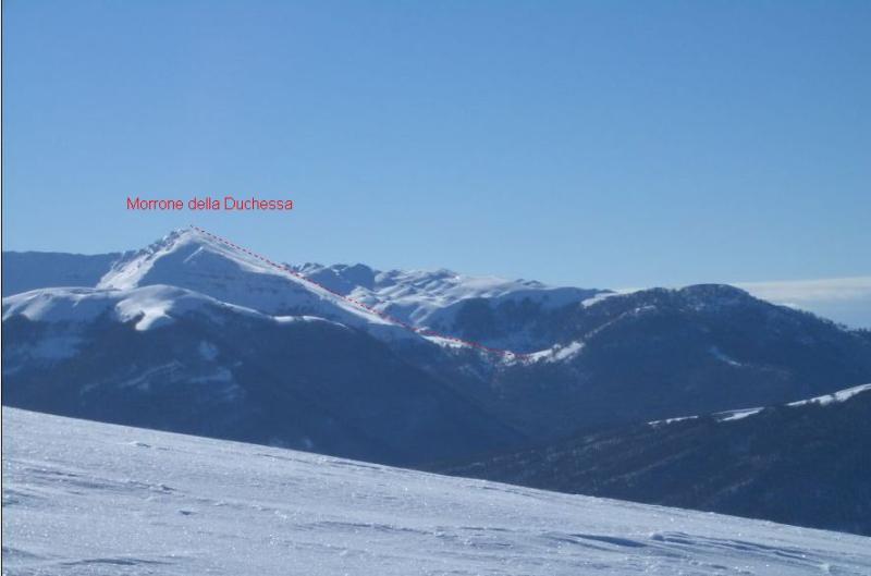 Morrone della Duchessa (Monte) dalla Valle Amara per Fosso Conca 2007-01-21
