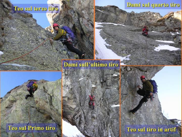 Mucrone (Monte) Spigolo del Canalino - Via del Miller 2007-01-17