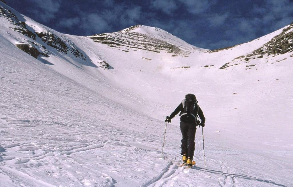 il vallone di salita al Col du Crachet che si trova sulla sinistra