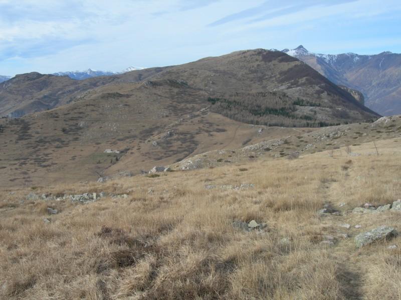 Il versante orientale del Monte Armetta, dalla vetta del Dubasso