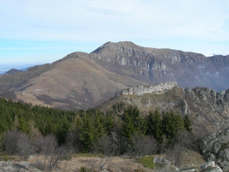 Il Monte Galero, dalle pendici orientali del Dubasso