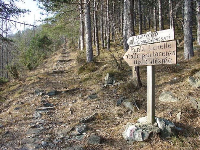Un tratto del Sentiero Frassati