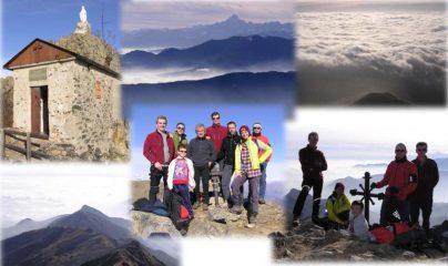 Da Rocca Sella al Civrari: lungo cammino a fil di cielo
