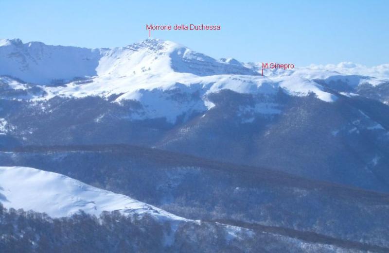 Ginepro (Monte) della Duchessa dalla V.Amara 2007-01-28