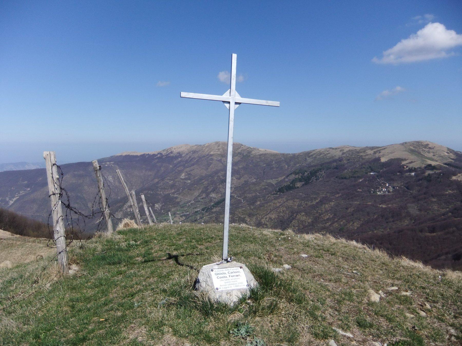 Cavalmurone (Monte) da Cartasegna per il Monte Legnà 2020-04-14