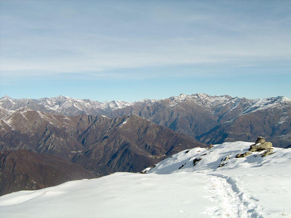 Panorama dalla Tersiva alla Quinzeina