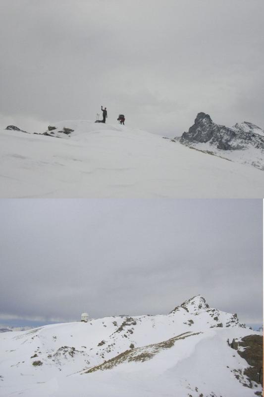 1 Pic Traversier 2 Chateau Renard ed osservatorio