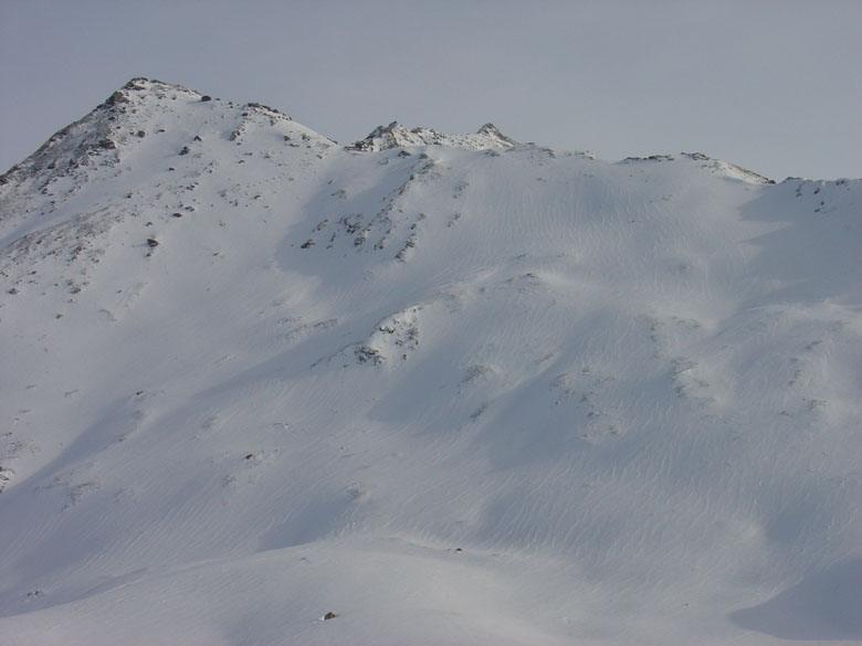 La Pointe du Cugne, dietro sbuca il Signal di Mt. Cenis