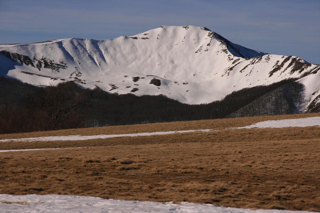 il Monte Sillano visto dai Prati di Sara (4-3-2007)