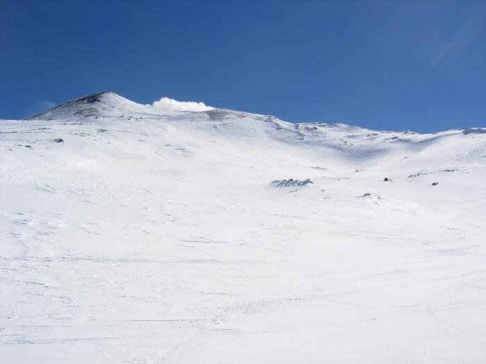 Pendii superiori sul versante nord dell'Etna