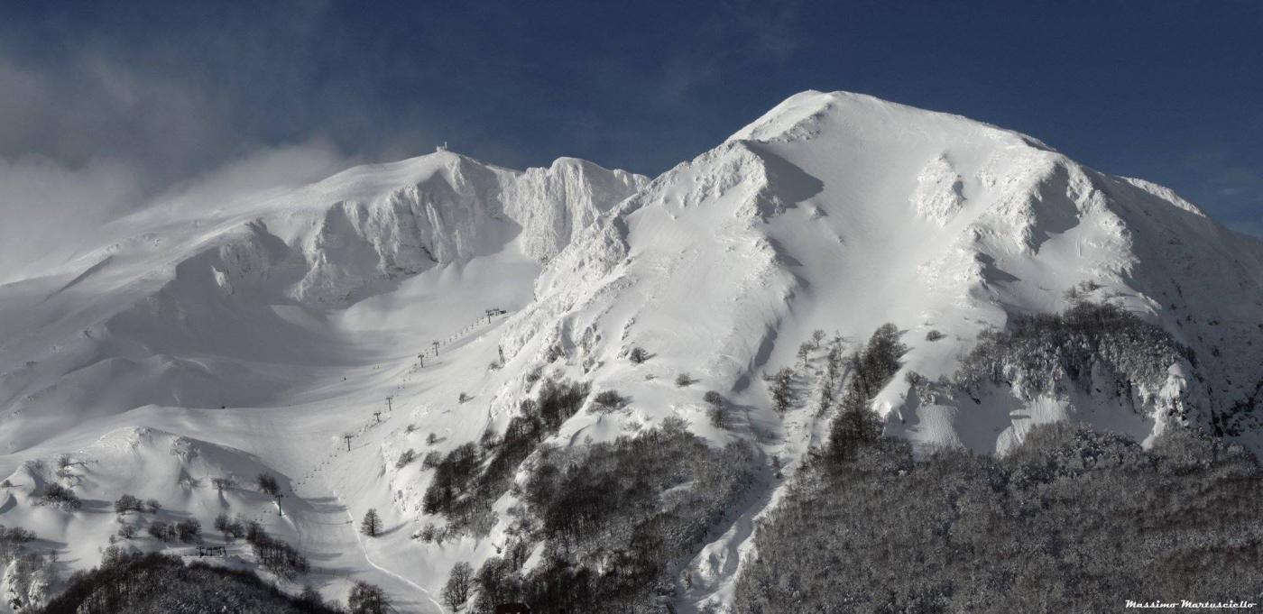 Miletto (Monte) da Campitello Matese 2015-02-18