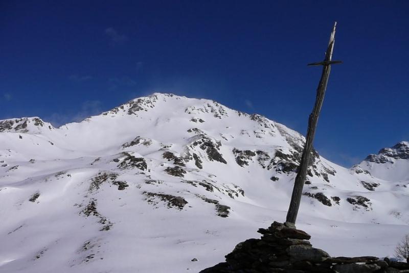 Monte Fallere e croce