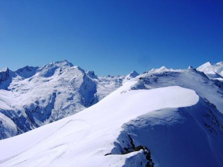 panorama sud dalla cresta