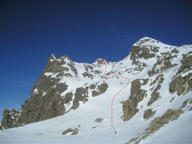 Grand Galibier (le) da le Pont de l'Alpe 2007-03-17