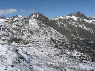 Vista verso il Mont Avic