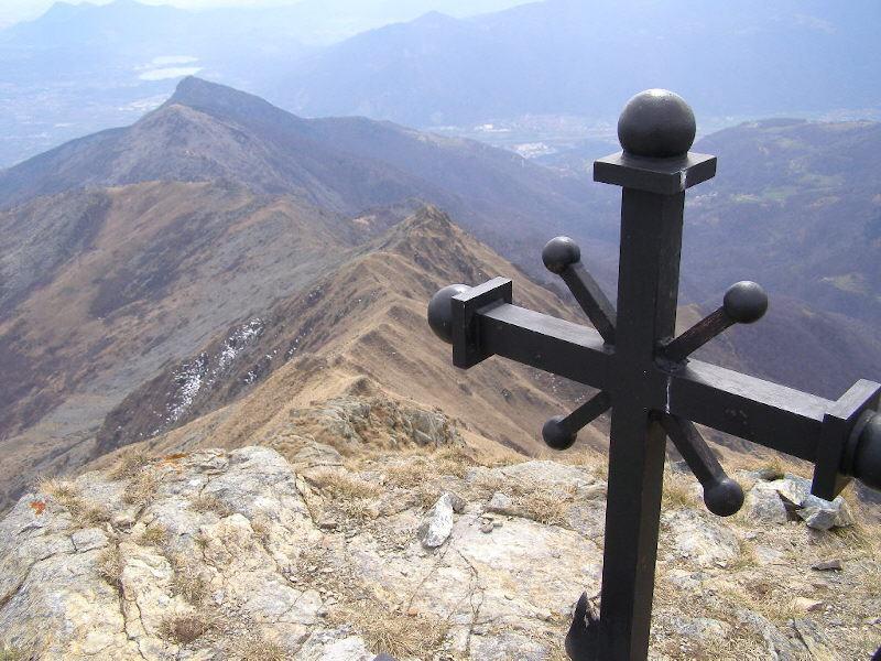 Dalla Punta Croce, la lunghissima cresta fino a Rocca Sella
