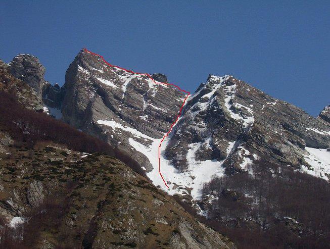Maggiore (Pizzo) Canale O di destra 2007-04-09