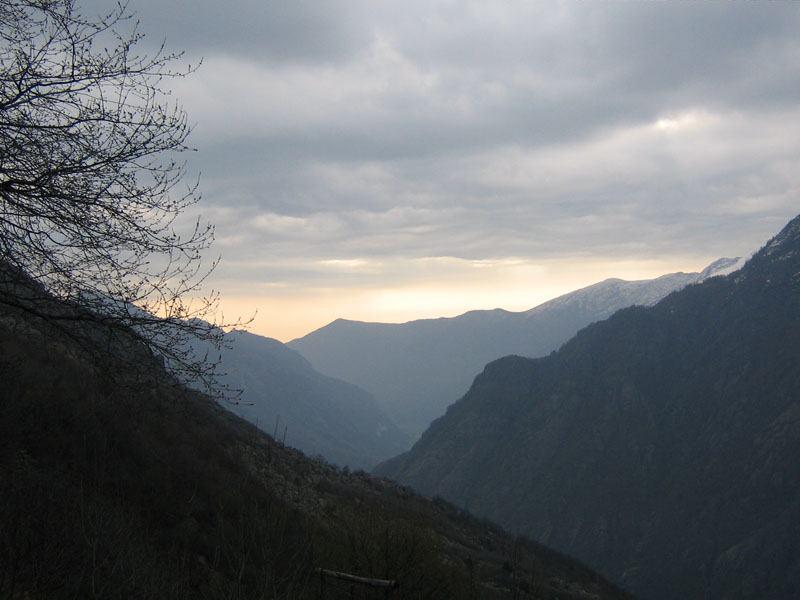 Uno sguardo sulla valle