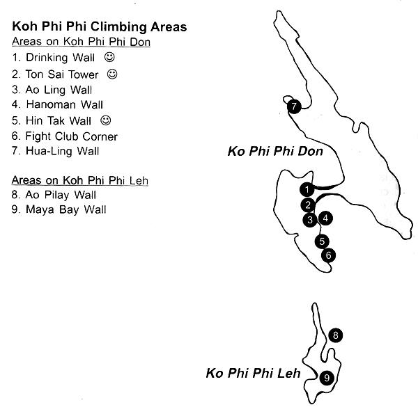 Thailandia - Ko Phi Phi Ao Ling (monkey Bay)Le Main de Budda 2007-04-15