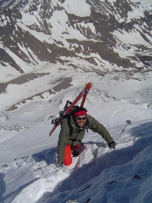 Leone (Monte) traversata dalla via della paretina 2007-04-16