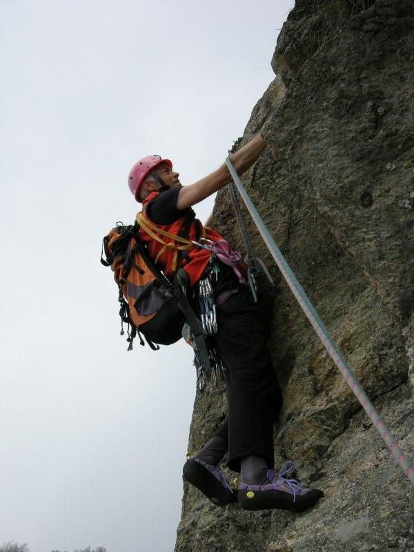 immagine di arrampicata sul quinto tiro