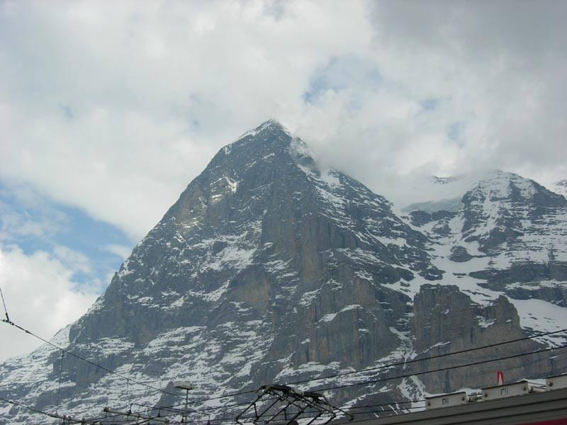 ...l'immane nord dell'Eiger..foto m.conti