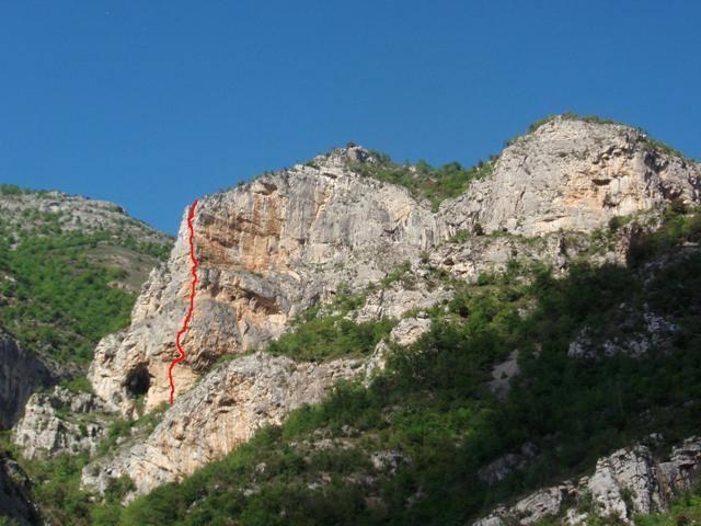 Ulivo (Rocca dell') Wall Rats Buttress o Via dei topi 2007-05-06