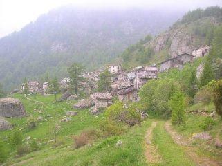 Grange della Valle punto di partenza dell'escursione