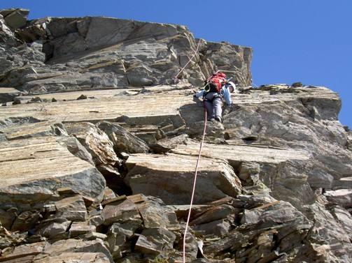 Scais (Pizzo) Cresta Sud dalla Bocchetta di Scais 2007-05-20