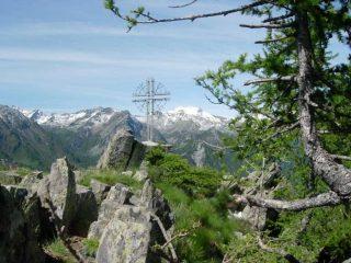 La croce della Tète du Mont