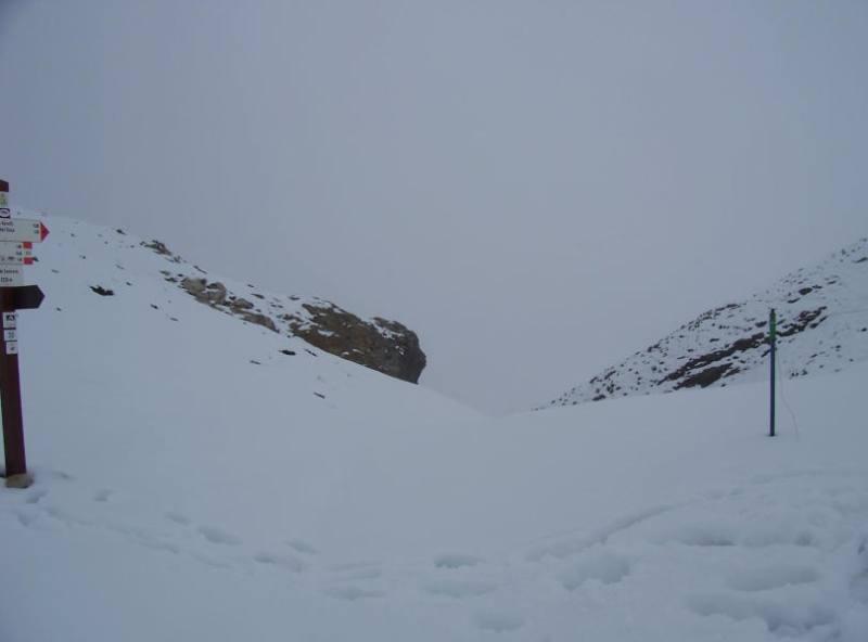 Porta Sestrera sotto la neve