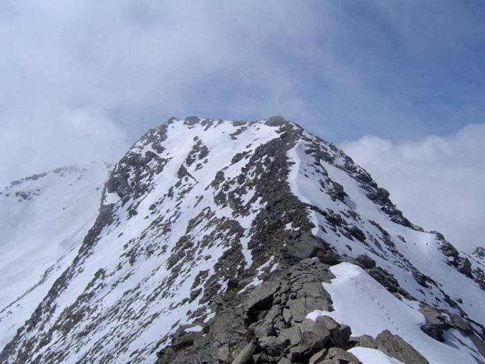 La cresta finale della Cialancia dalla quota 2817