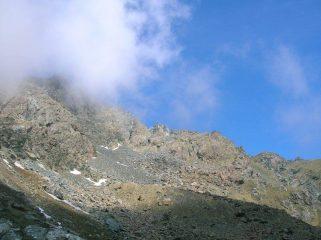 la cresta dal Lago Chardonnet