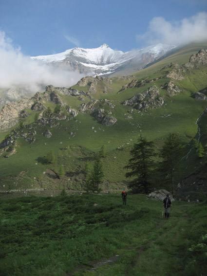 Nei pressi dell'Alpe Arcella
