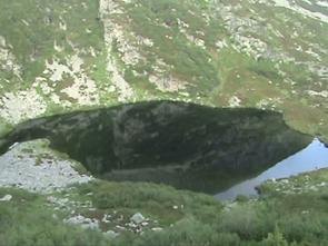 Foto scattata durante il percorso di collegamento ai laghi Verdi
