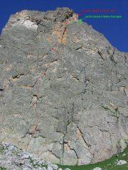 Tracciato della linea Balzola-Calcagno-Savio