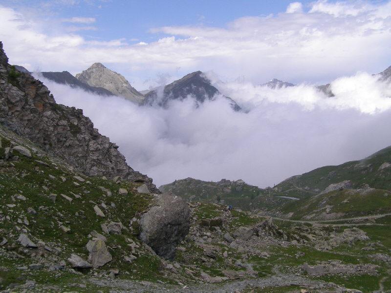 Veduta dal Col Barant sul versante della Conca del Prà