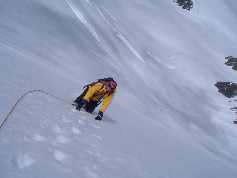 Breithorn Orientale Via Normale da Plateau Rosa 2007-06-30