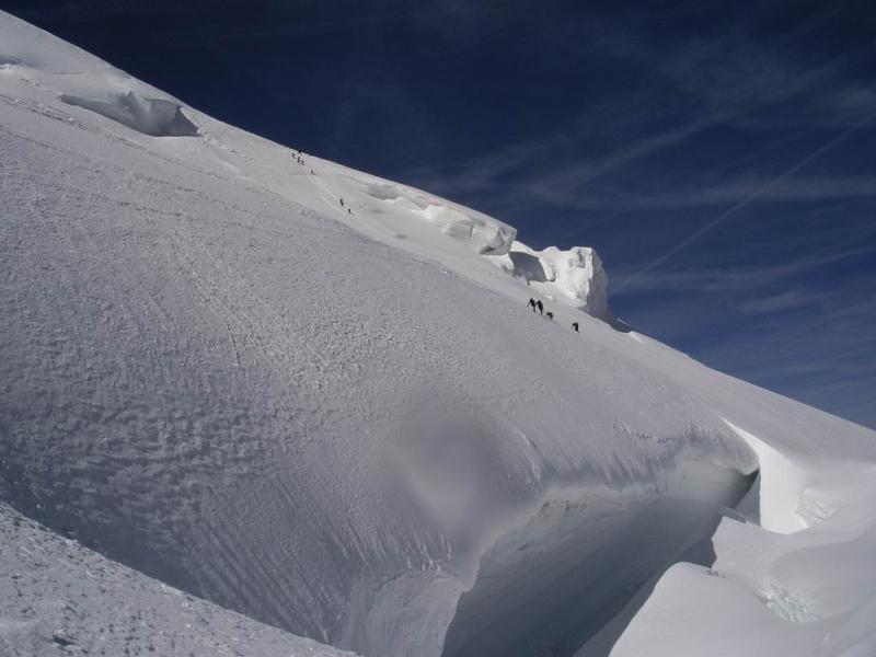 le ottime condizioni del traverso sopra la serracata alta
