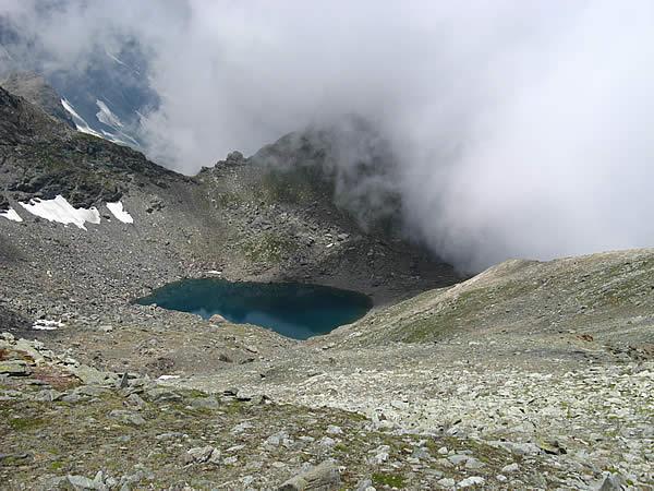 Il Lago Crotas dalla Quara di Bellacomba