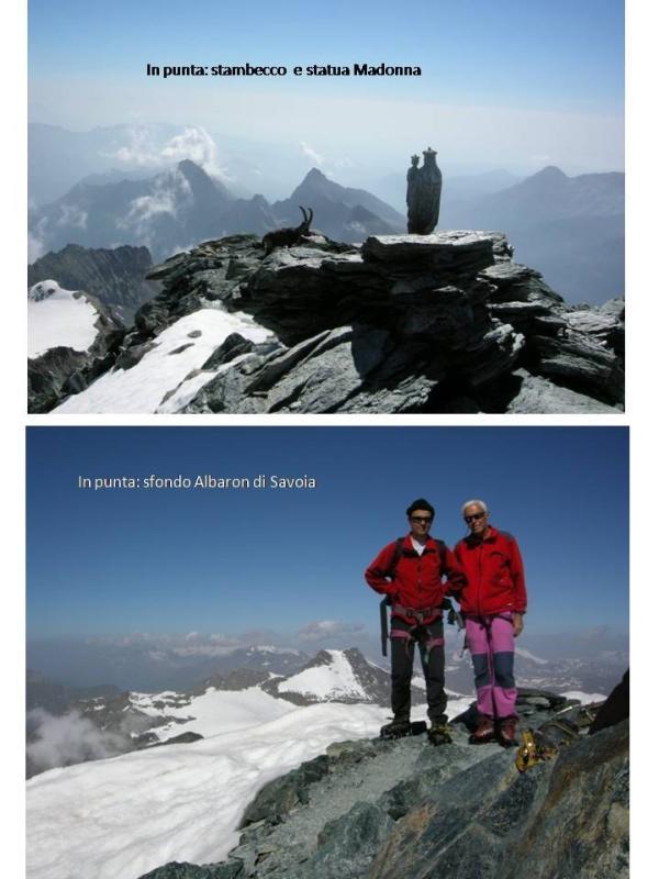 due immagini significative dell'ambiente e delle condizioni meteo