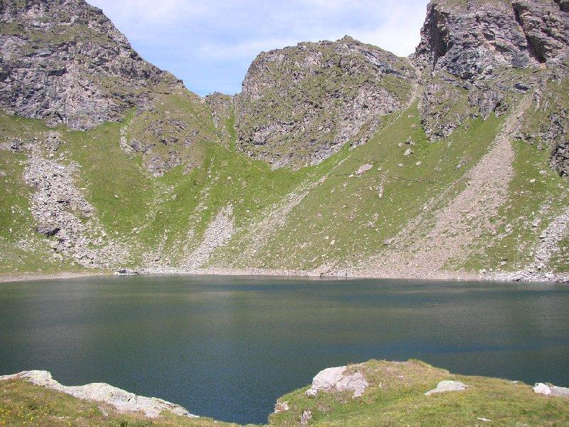 Intorno al lago Brenguez, ultima chicca della gita.