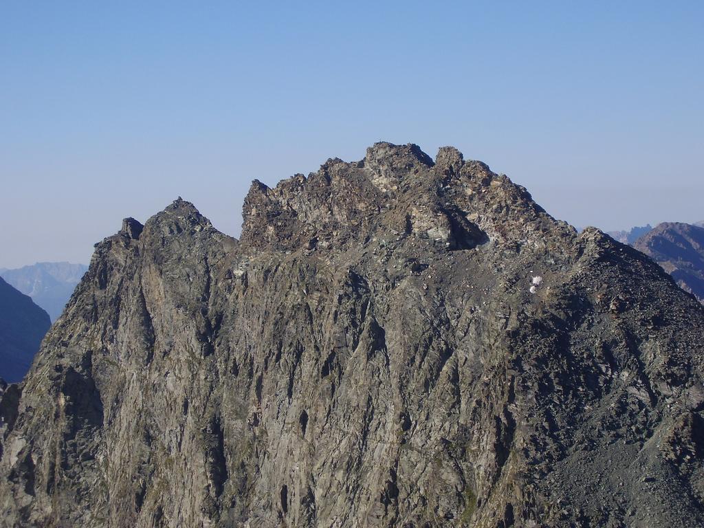 Rocce fourion  dal Monte Granero
